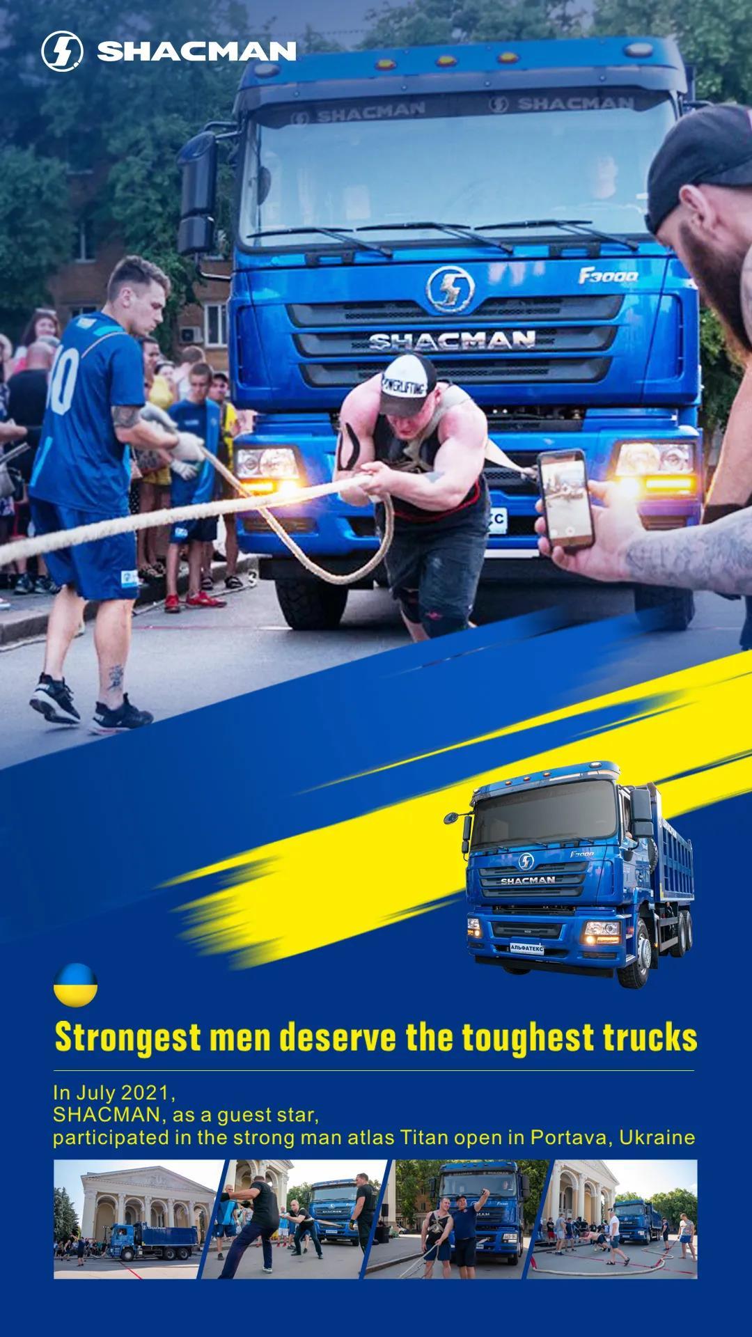 The strongest men deserve the toughest trucks!