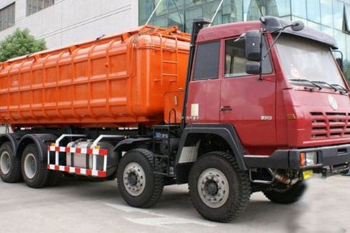 High Performance New Yellow 6×4 Shacman Dumper -