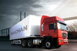Hot sale Shacman S2000 6×4 Van Type Cargo Truck -