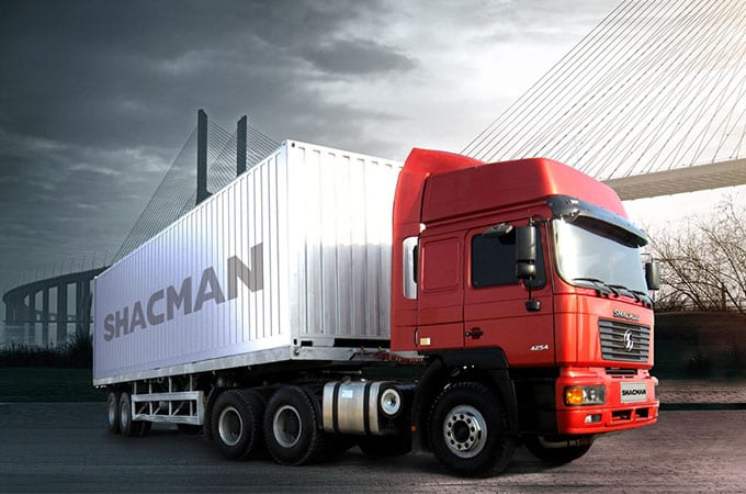 Fast delivery Shacman S2000 6×4 Log Truck Chassis -