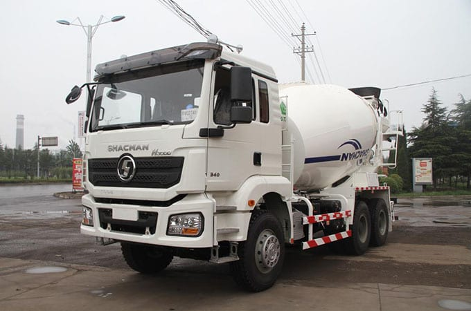 Ordinary Discount Shacman Factory Blue 6×4 Lorry Truck -