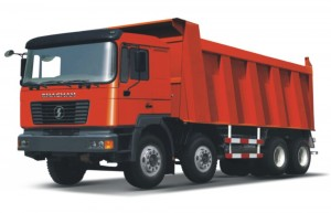 8X4 dump truck F2000