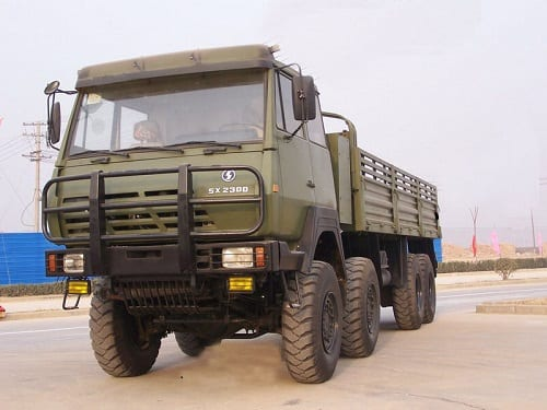 Trending Products Shacman X3000 8×4 Truck Chassis -