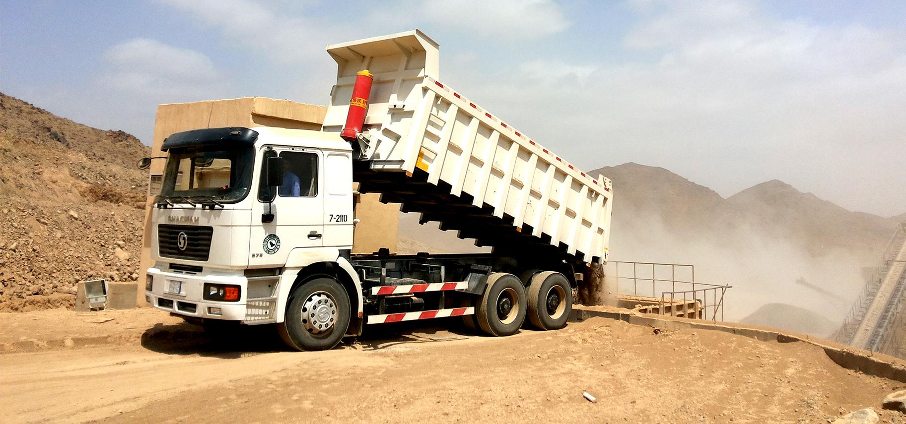 Shacman truck F2000