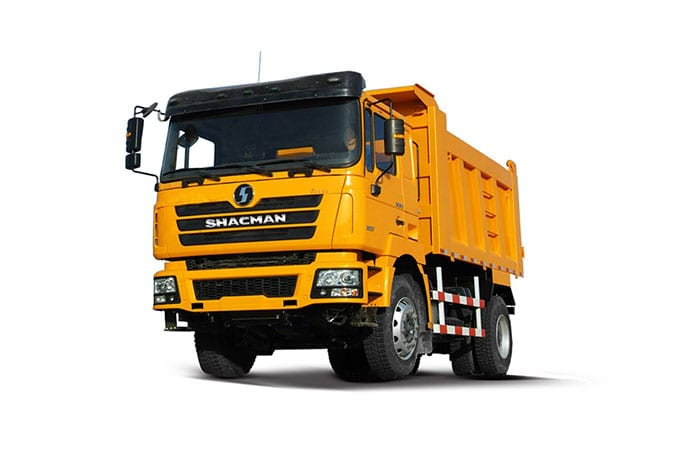 Europe style for Shacman F3000 8×4 Van Type Cargo Truck -