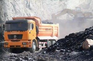 6×4 dump truck F2000