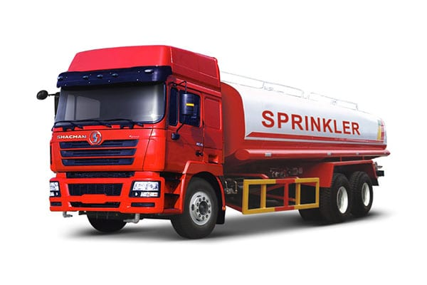 Factory selling Shacman Red 6×4 Log Truck Chassis -