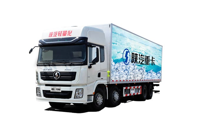 New Fashion Design for Shacman F2000 8×4 Lorry Truck -