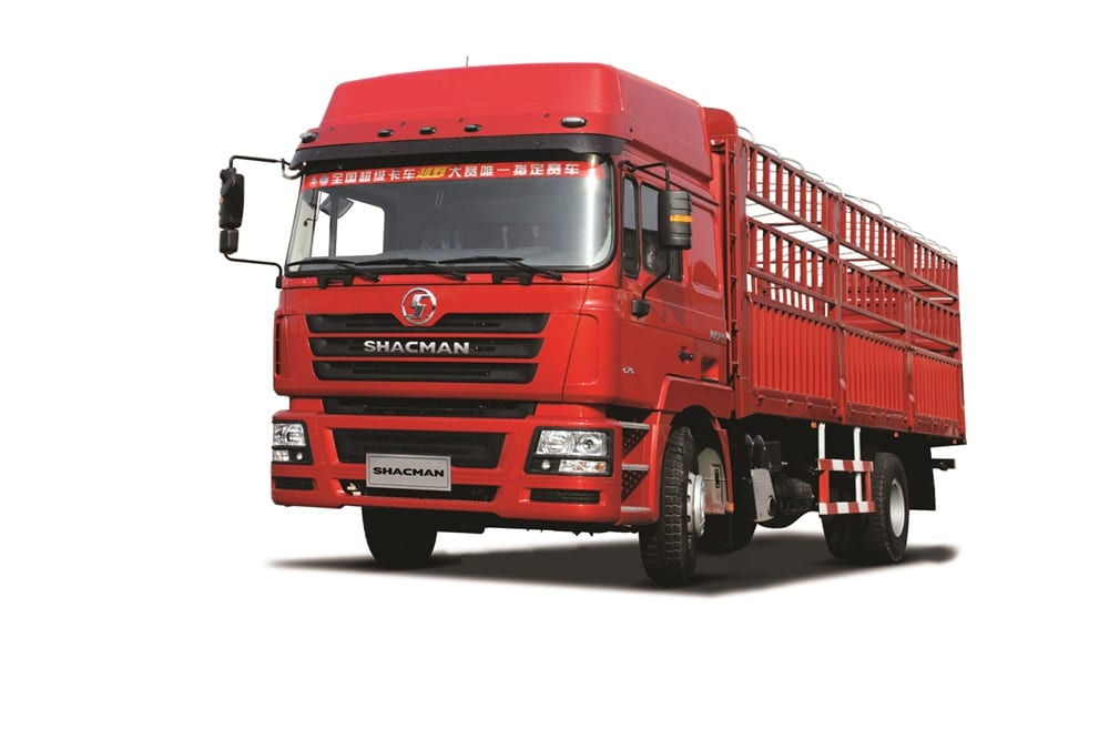 Original Factory Shacman Red 6×4 Truck Chassis -