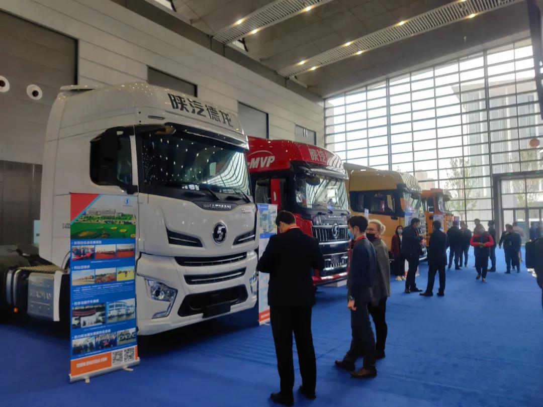 Shacman is very popular in the Western China International Purchasing exhibition